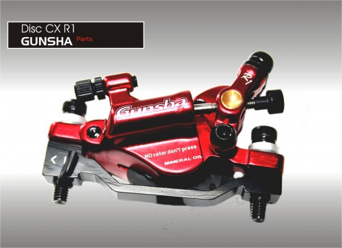 Gunsha CX brake disc R1 Mechanical/Hydralik System