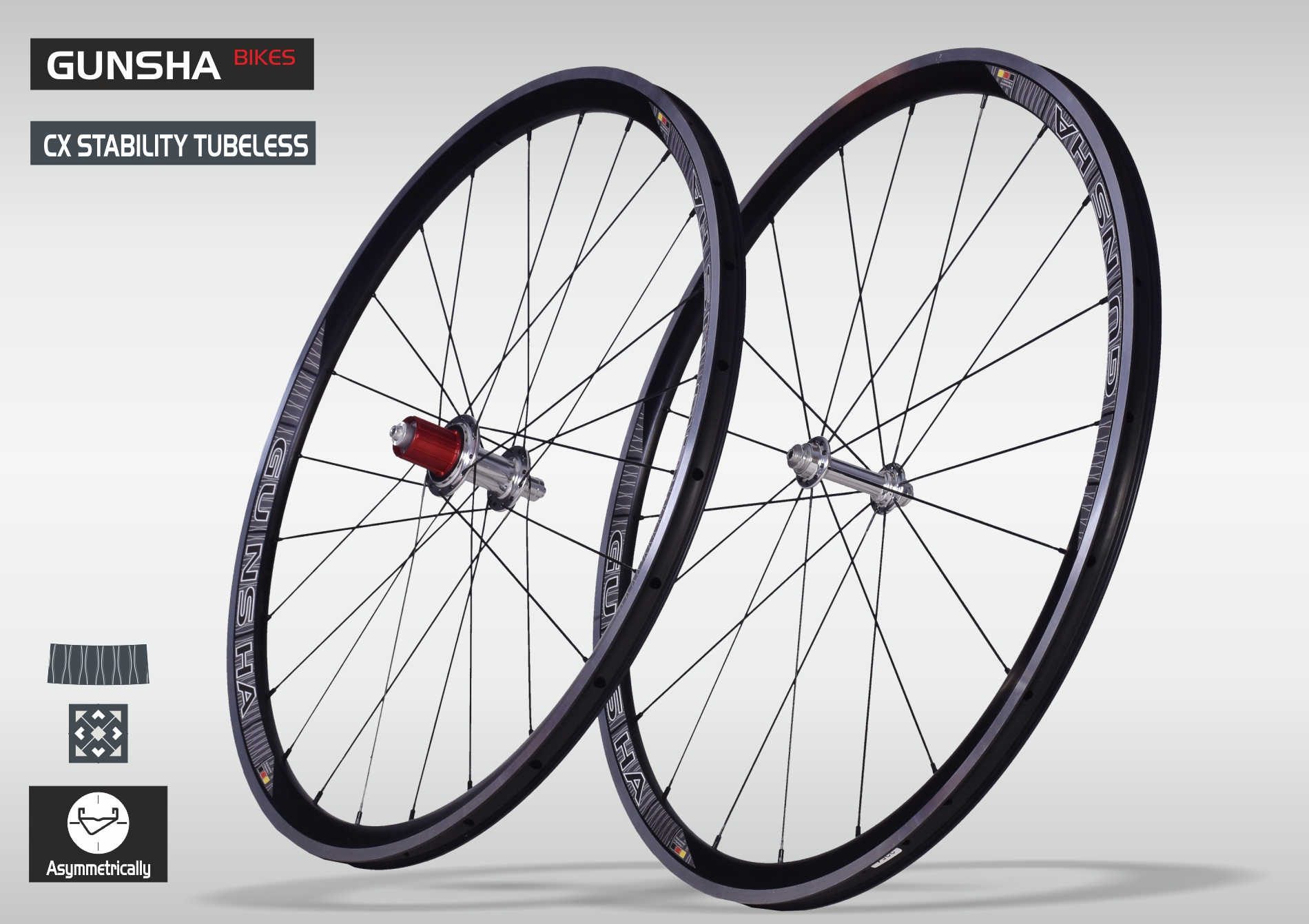 Laufradsatz CX Stability Tubeless