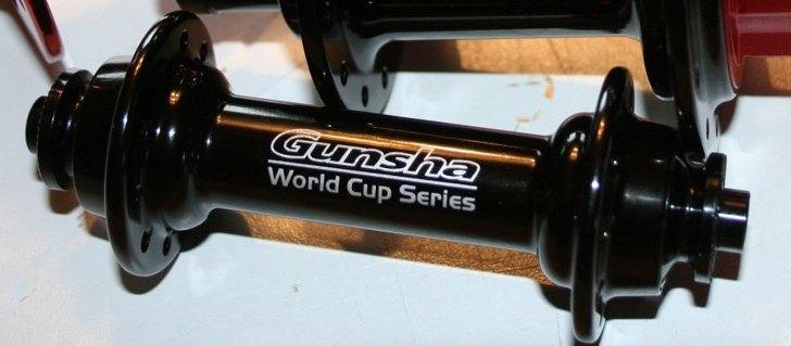 Vorderrad Nabe Gunsha World Cup