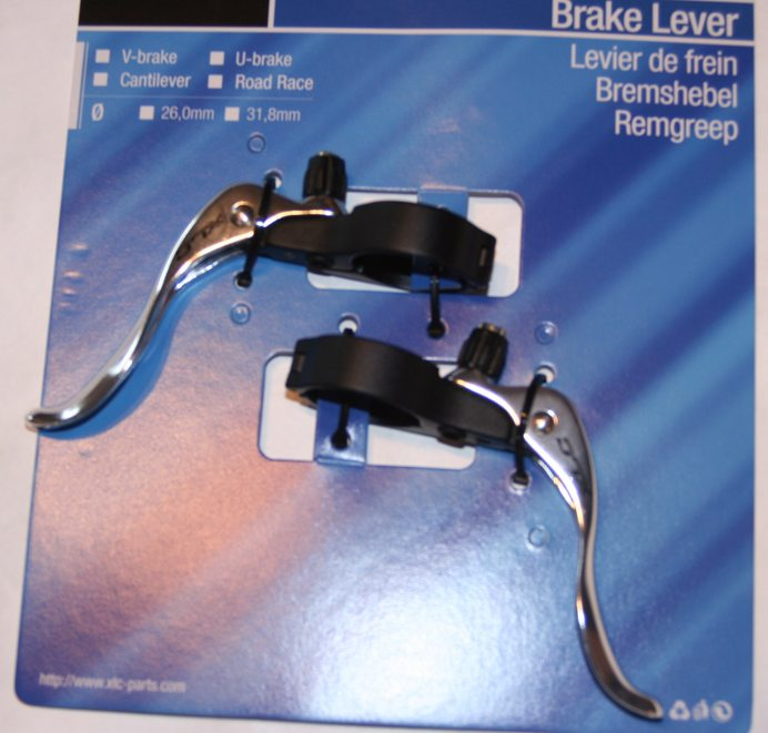 Addition Brake handle 31,8 mm Oversize