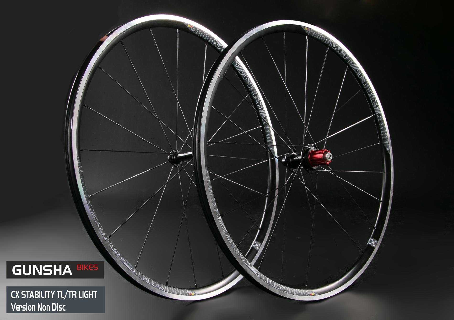 Laufradsatz CX Stability Light  TR/TL