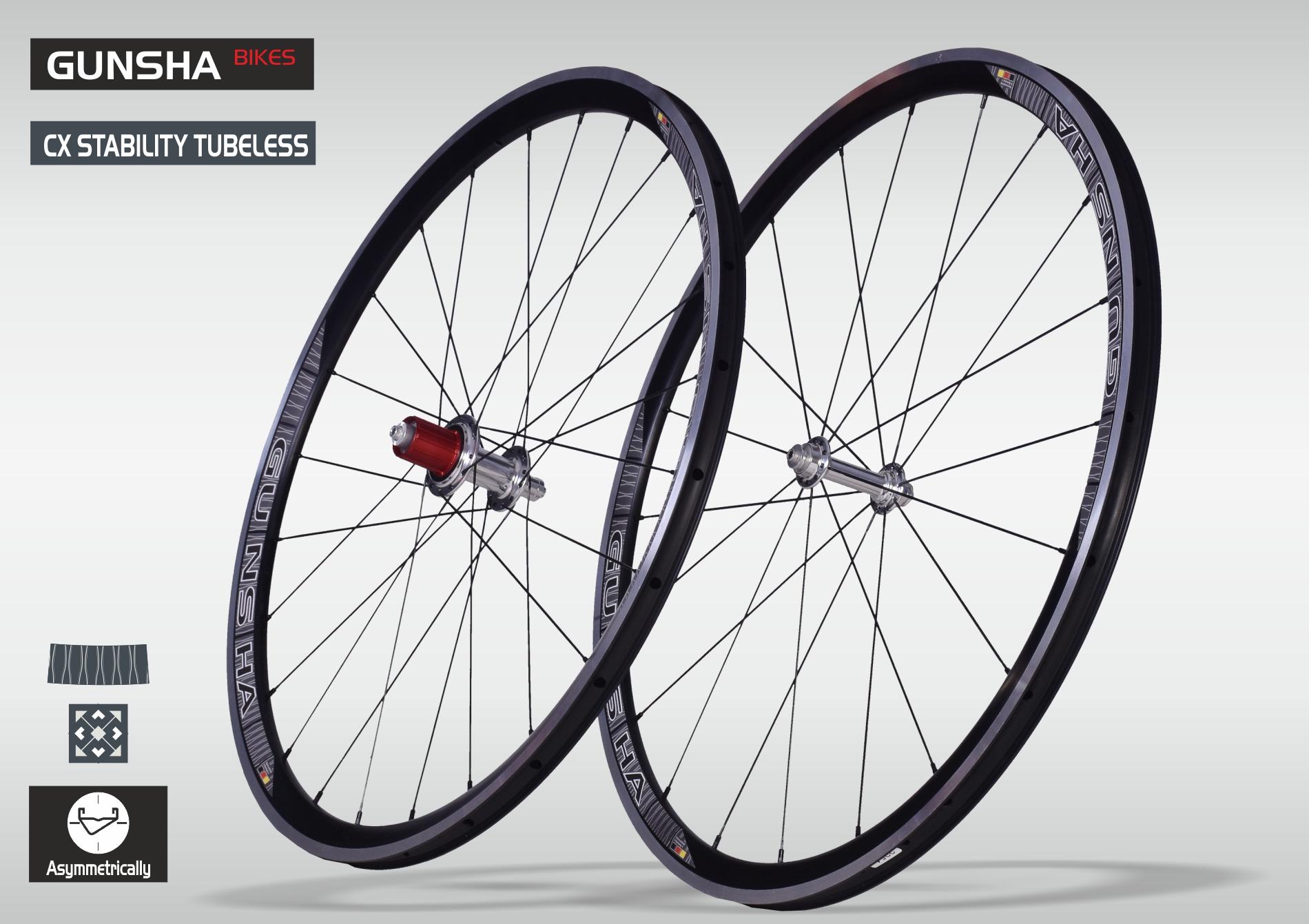 Laufradsatz CX Stability TL