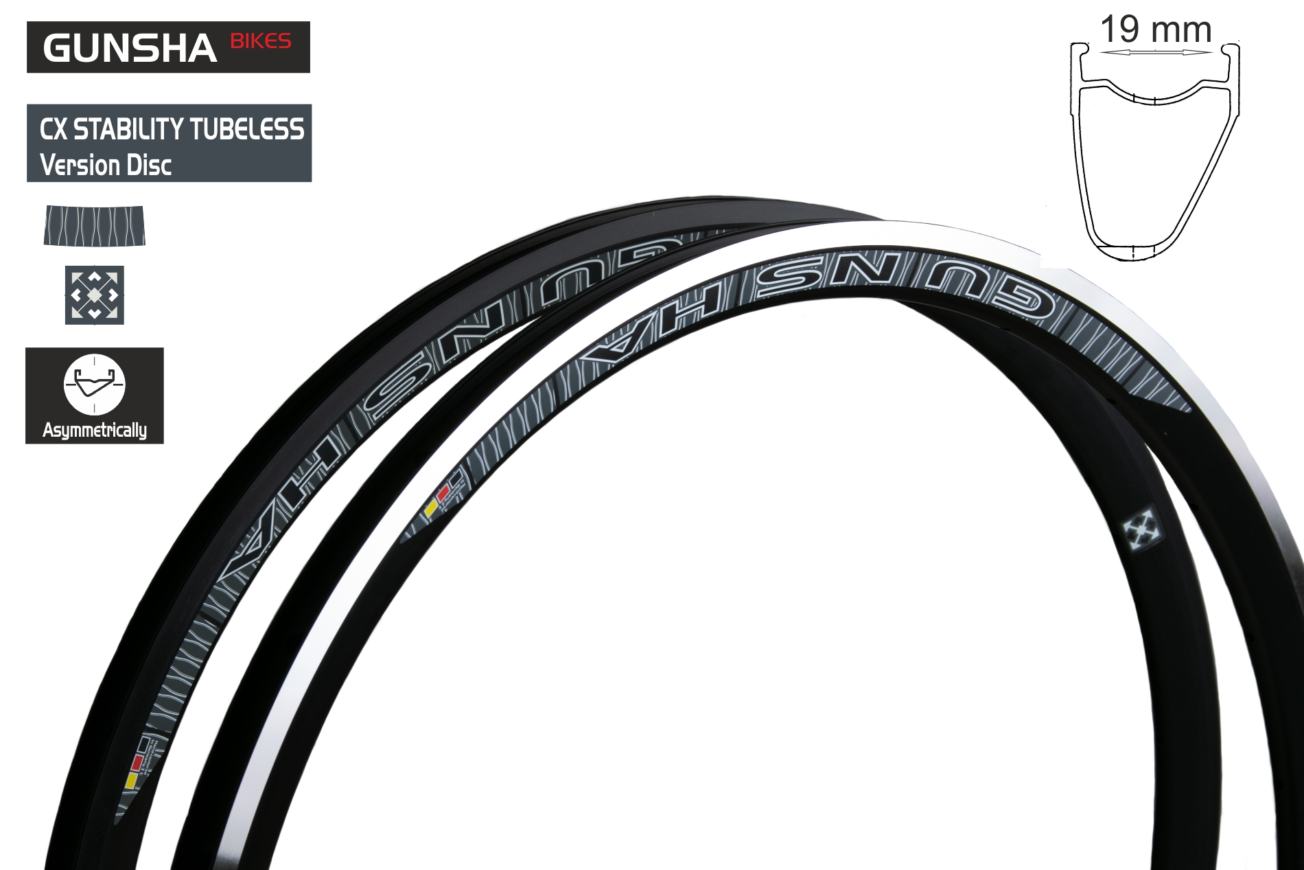 CX Stability TL/TR  Assymetric  31 mm  DISC