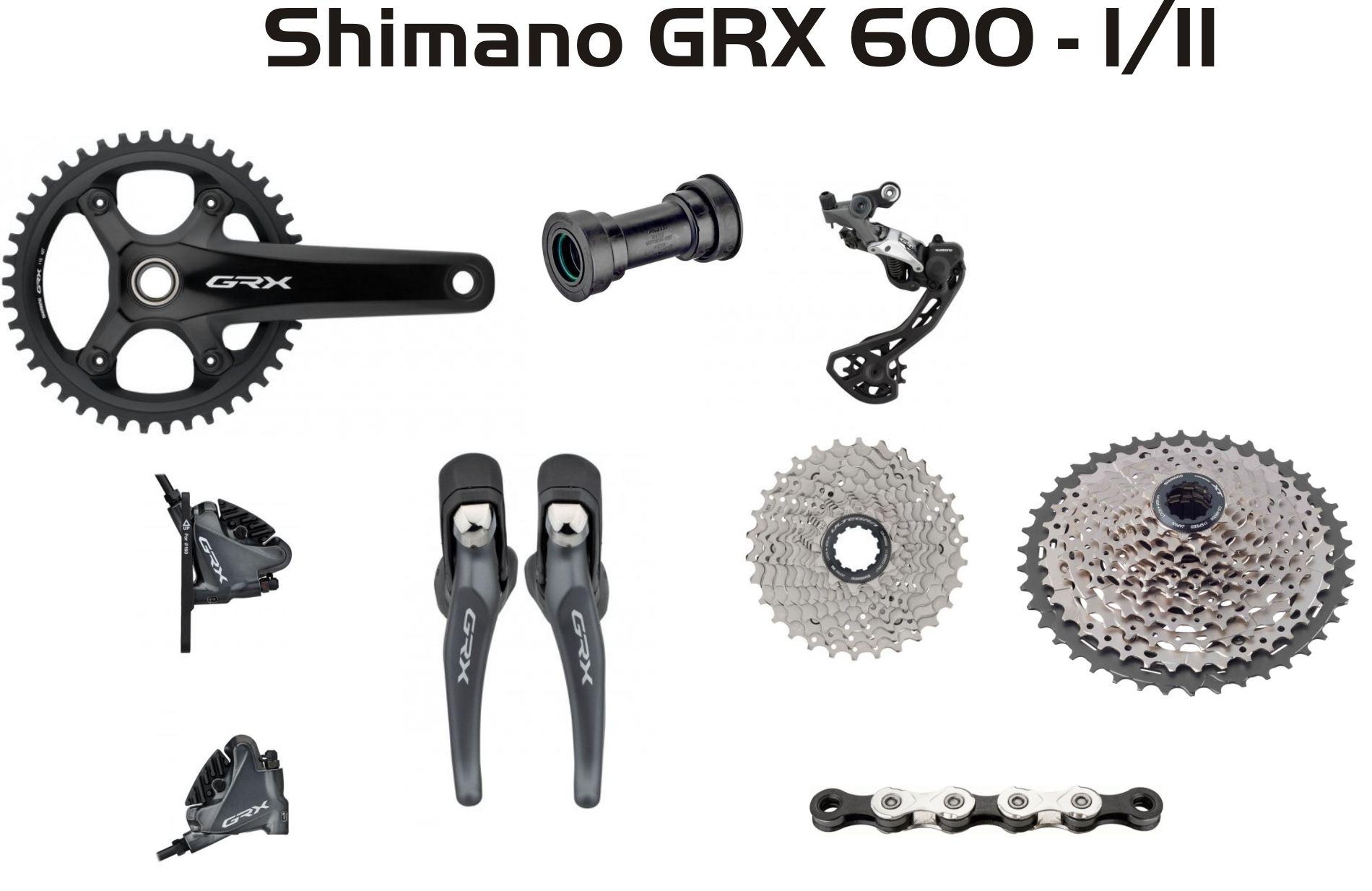 Group Shimano GRX 600  1/11