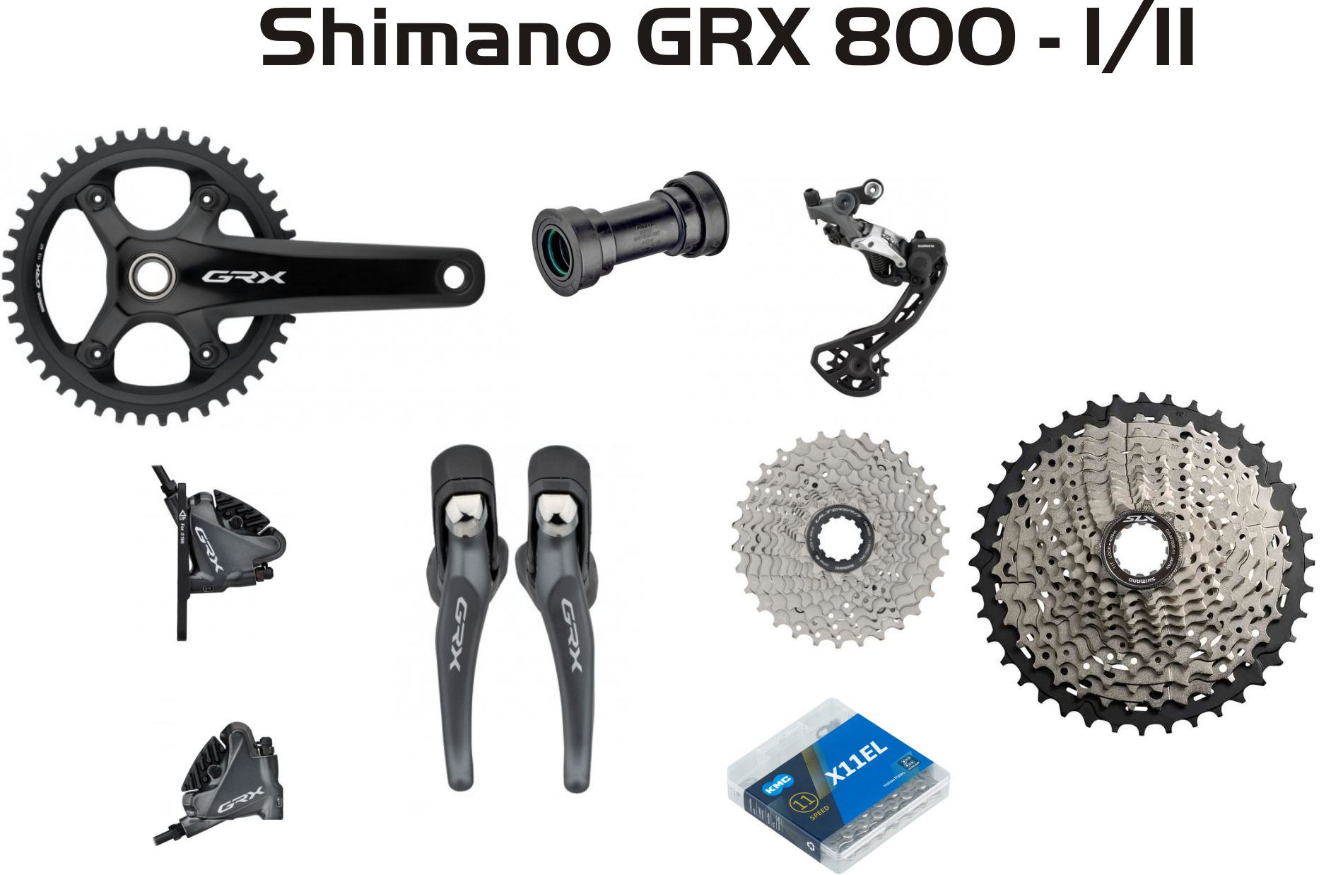 Group Shimano GRX 800  1/11