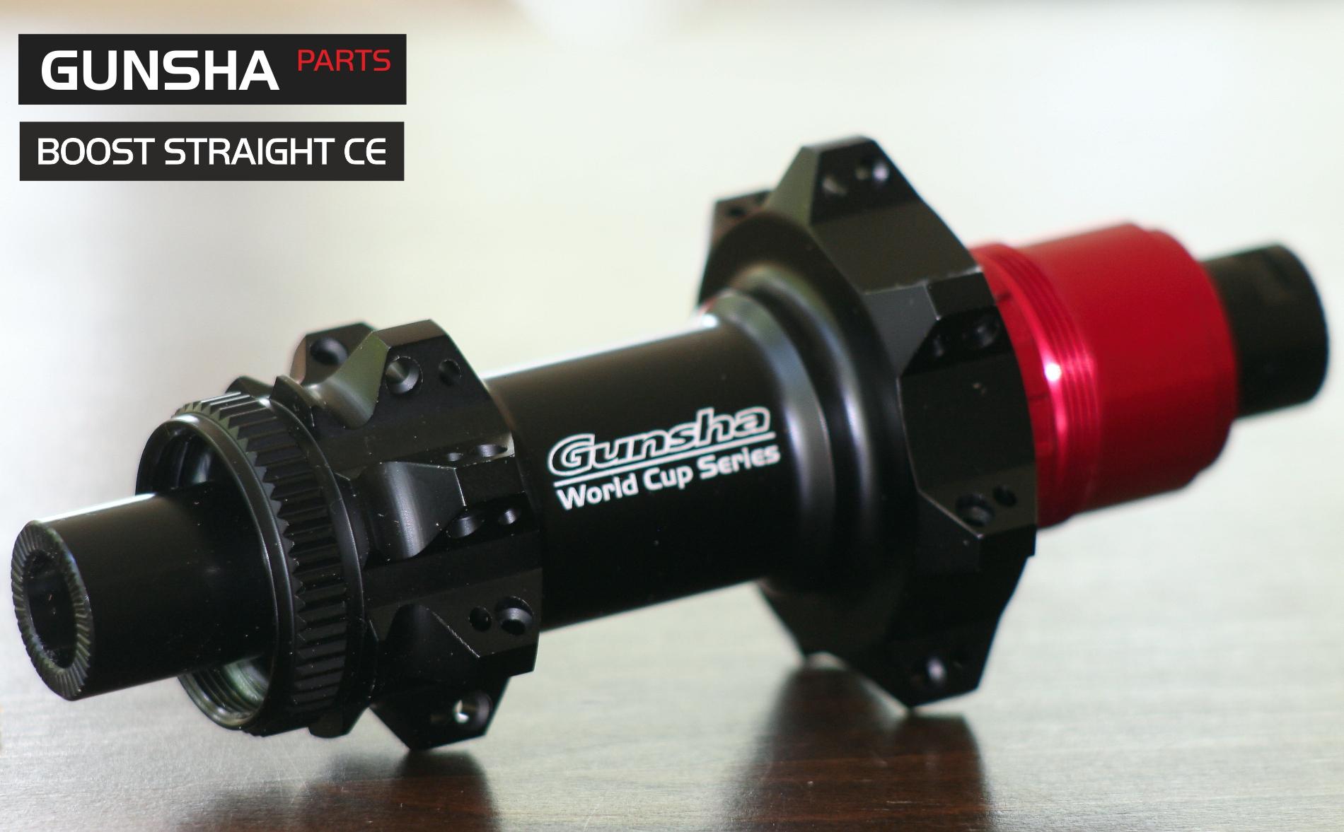 Gunsha Boost Straightpull CE SET VR /HR