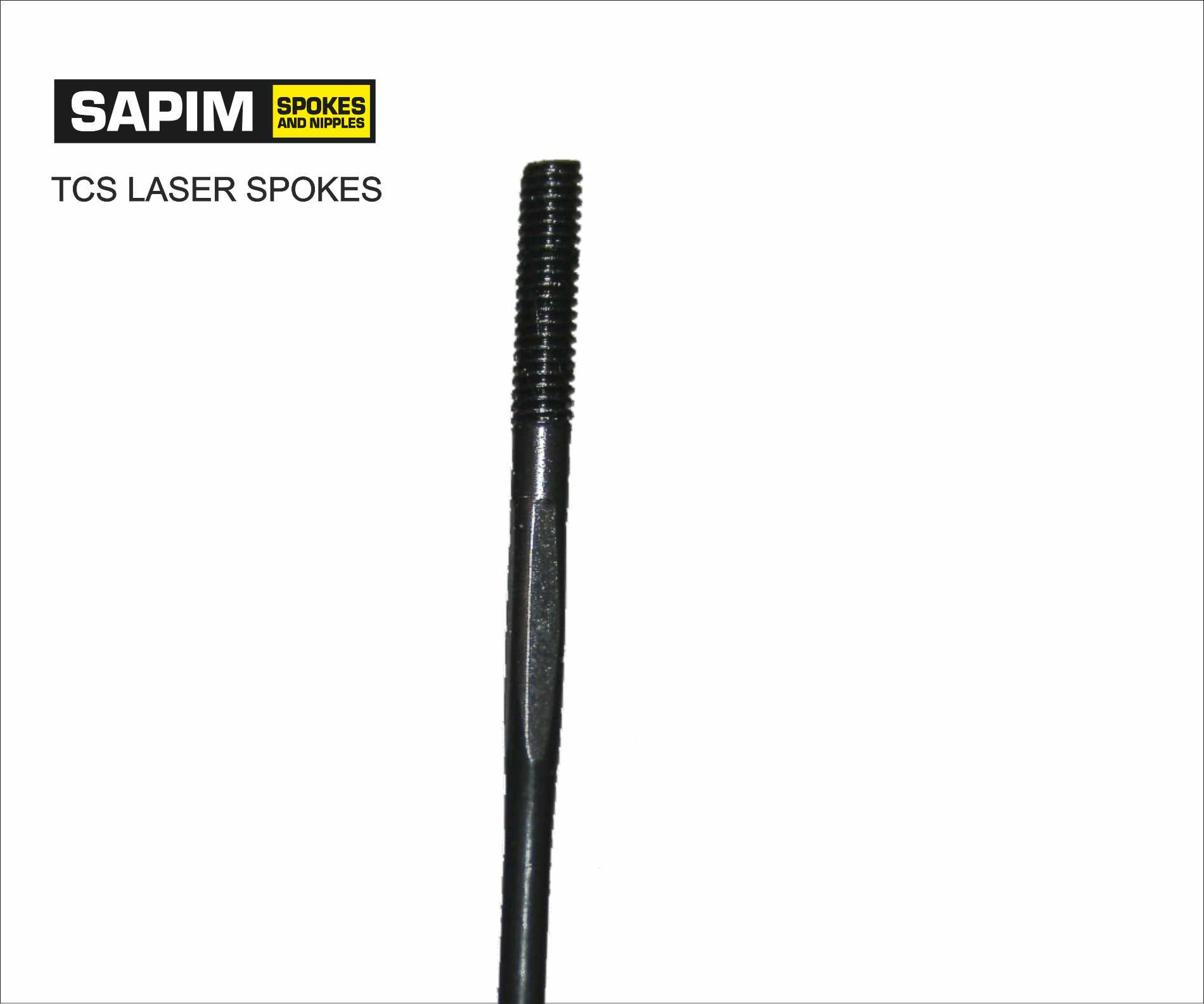 Spokes Sapim Laser (butted Spokes) black