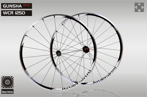 Laufradsatz Gunsha WCR Alloy 1250