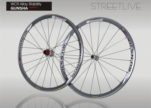 Laufradsatz Gunsha WCR Alloy Stability Urban Styles