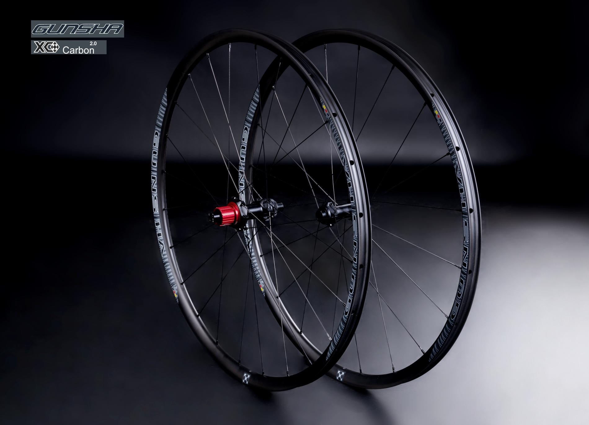 Gunsha XC Carbon 29 CL  - Neu mit Straightpull ab 1330 Gr.