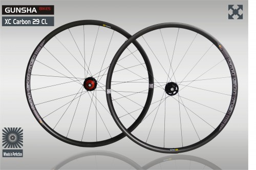 Gunsha XC Carbon 29 CL Felge  Mod 1.6  - Aktionspreis
