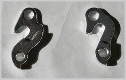 Schaltaugen  für Gunsha Rahmen - gängigste Modelle