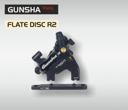 Gunsha CX R2 Flate Disc  Mech-/ Hydralikbremse
